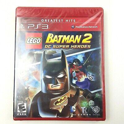 LEGO Batman 2: DC Super Heroes Greatest Hits Sony PlayStation 3 PS3 NIB