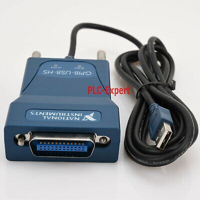 Used Gpib-usb-hs Ni National Instrumens Interface Adapter Controller Ieee 488