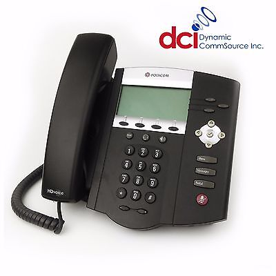 Refurbished Polycom Soundpoint Ip 450 Telephone Poe Free Shipping