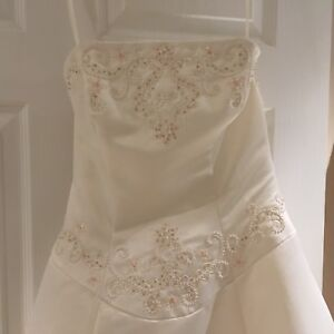 Beaded Ivory Wedding Dress