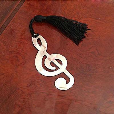 Music Note Alloy Bookmark Novelty Ducument Book Marker Label Stationery YA9