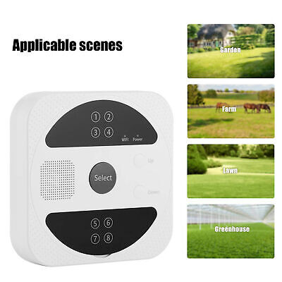 Digital Automatic Irrigation Controller Water Timer Tap Garden Watering System
