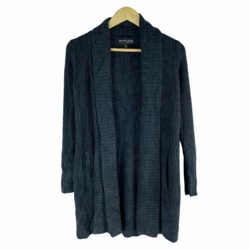 Barefoot Dreams Women Size XS CozyChic Lite® Montecito Cardigan in Black