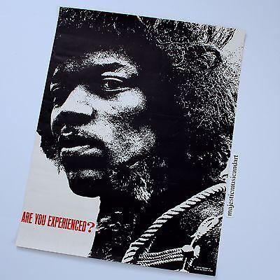 BEAUTIFUL 1967 ORIGINAL JIMI HENDRIX ARE YOU EXPERIENCED? POSTER VERY RARE