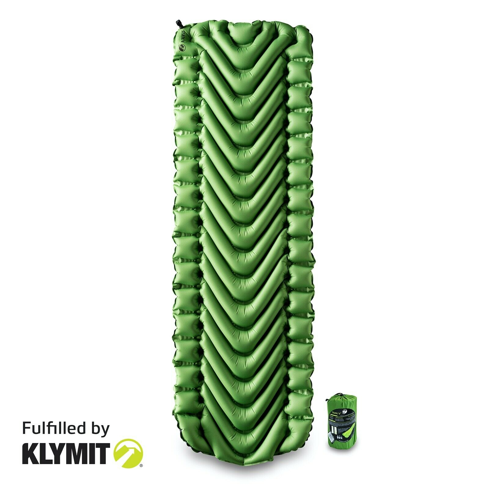 Klymit Static V Lightweight Sleeping Pad, King's Desert Shad