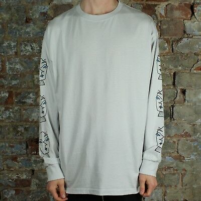 Polar Heads Long Sleeve T-Shirt Tee Brand New in Grey in size S,M,L,XL