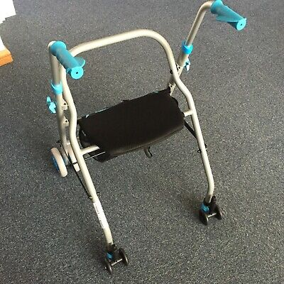 Adult Walker Rollator with Seat/Storage and Compression (Push Down) Brakes 5.5kg