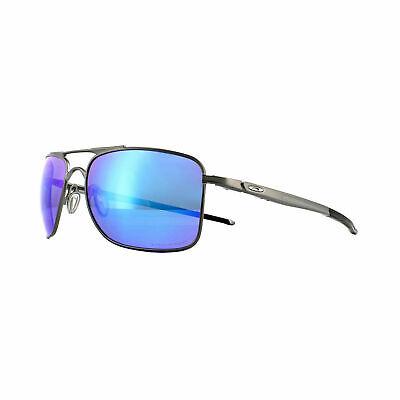 Oakley Sunglasses Gauge 8 M OO4124 0657 Grey Prizm Sapphire Polarized