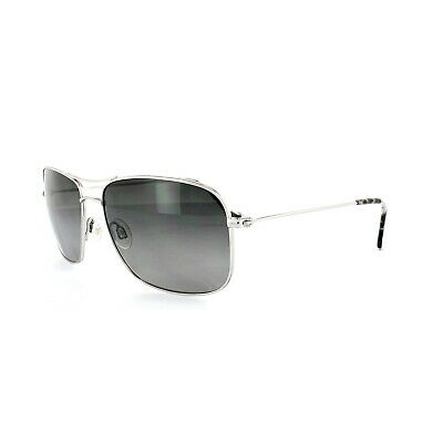 Maui Jim Sunglasses Wiki Wiki GS246-17 Silver Neutral Grey Polarized