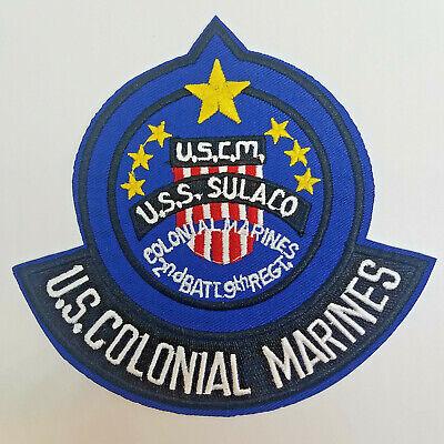 Aliens Uss Sulaco US Kolonialer Marines Uniform / Kostüm Aufnäher 12.7cm - Aliens Marines Kostüm