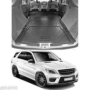 Mercedes w166 ml m class rubber boot load liner dog mat for Mercedes benz ml350 rubber floor mats