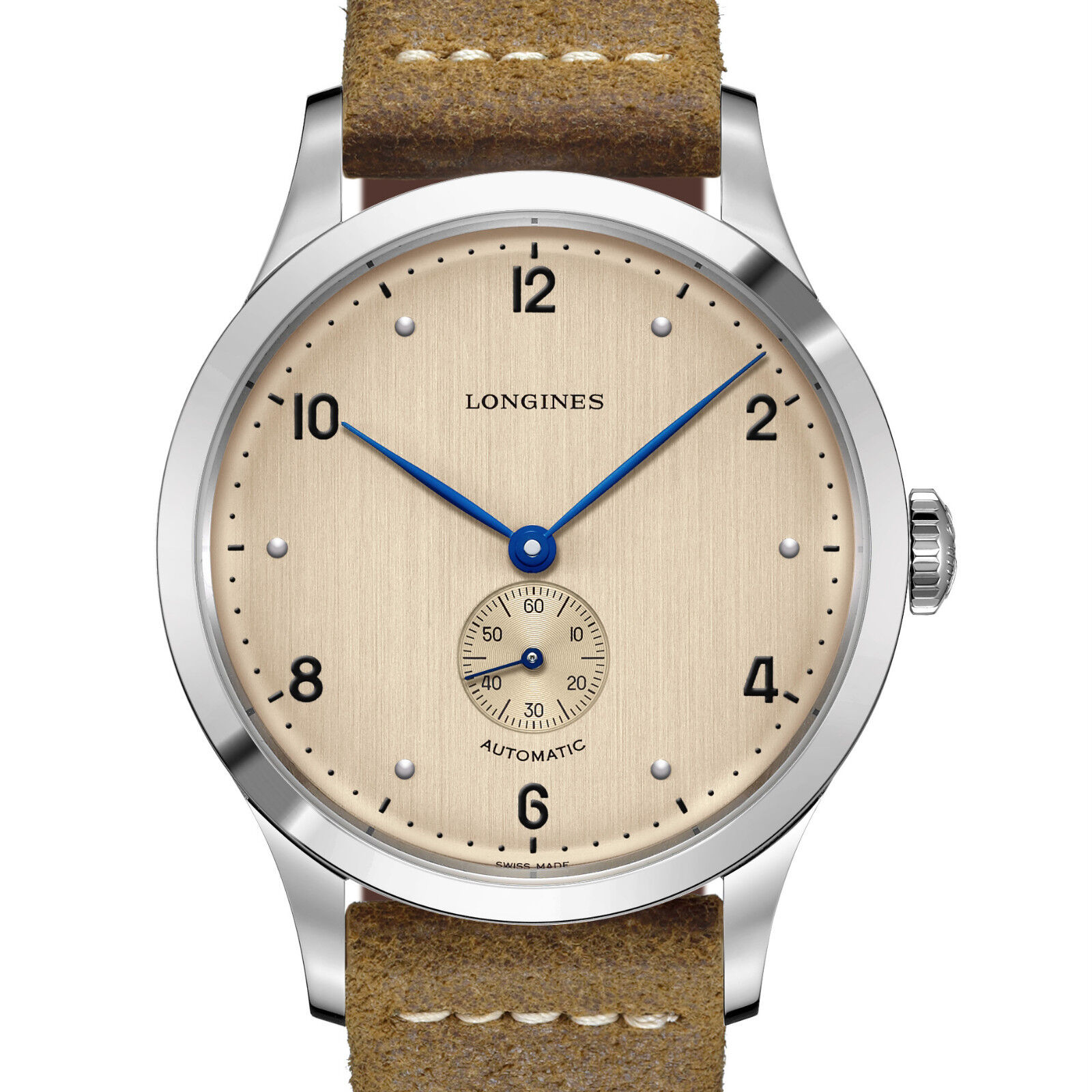 Longines Heritage 1945 Watch 40mm Steel Brown L2.813.4.66.0 Hodinkee NEW - watch picture 1