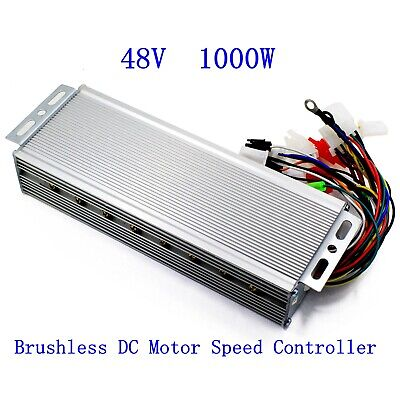 48V 1000W Electric Bicycle E-bike Scooter Brushless DC Motor Speed Controller Brushless Electric Motor Speed Controller