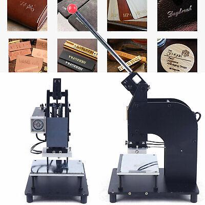 New Manual Hot Foil Stamping Machine Pvc Plastic Card Tipper Stamper 0-50bmin