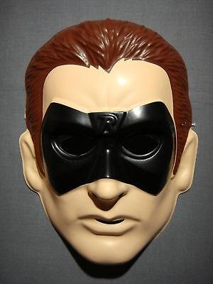 BATMAN & ROBIN ROBIN PVC SUPERHERO HALLOWEEN MASK - Robin Halloween