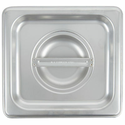 4 Pack 16 Size Pan Lid Stainless Steel Steam Hotel Prep Table Food Cover New