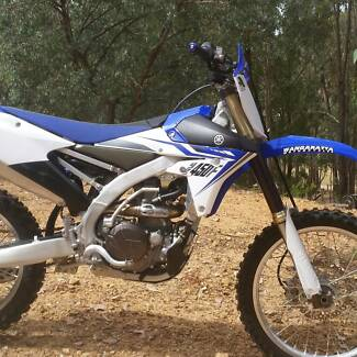Yamaha YZ450F 2014 Swap Trade.