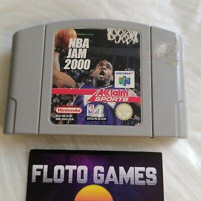 Jeu NBA Jam 2000 pour Nintendo 64 N64 PAL FR RARE - Floto Games