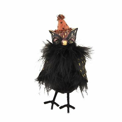 Margarita Castillo Ully Black Owl Retro Vintage Style Halloween Decor Figurine](Halloween Margaritas)
