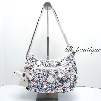 NWT Kipling HB6802 Sally Crossbody Shoulder Bag Purse Polyester Floral Tapestry