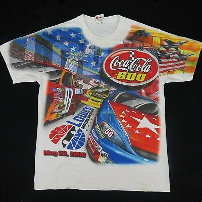 Coca-Cola 600 Lowes Motor Speedway Charlotte All Over Print '06 Chase Large
