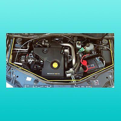 Motorraum Motorhaubendichtung für Dacia Duster und Dacia Duster II  - Hauben