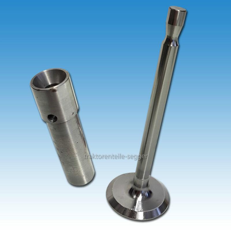 Einlass- bzw. Auslassventil + Ventilführung für F 1 M 414 & F 2 M 414 Motor 11er Foto 1