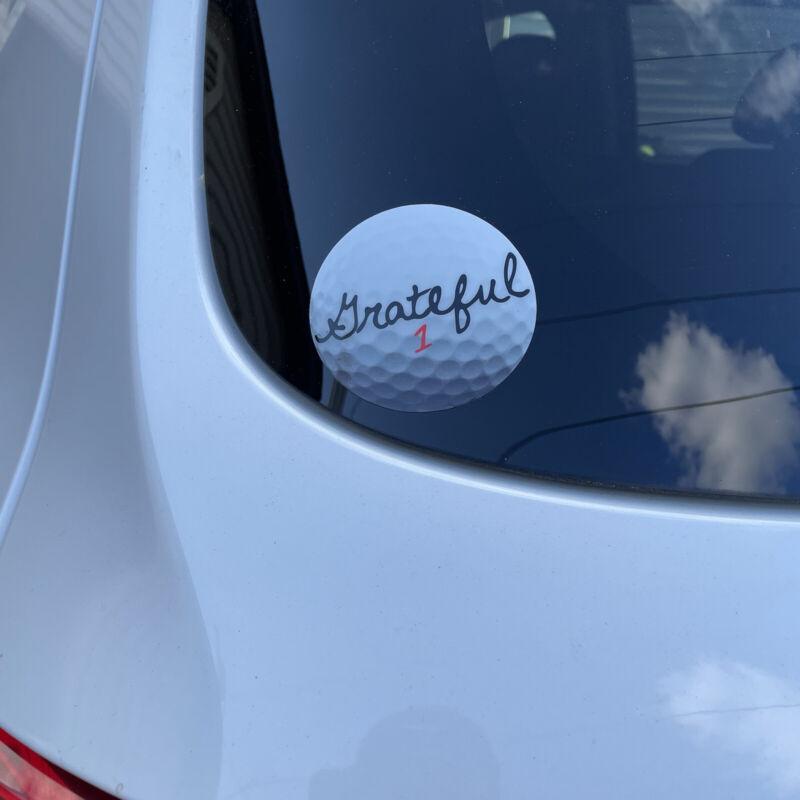 """Grateful Dead Golf Ball Sticker 3"""" Titleist"""