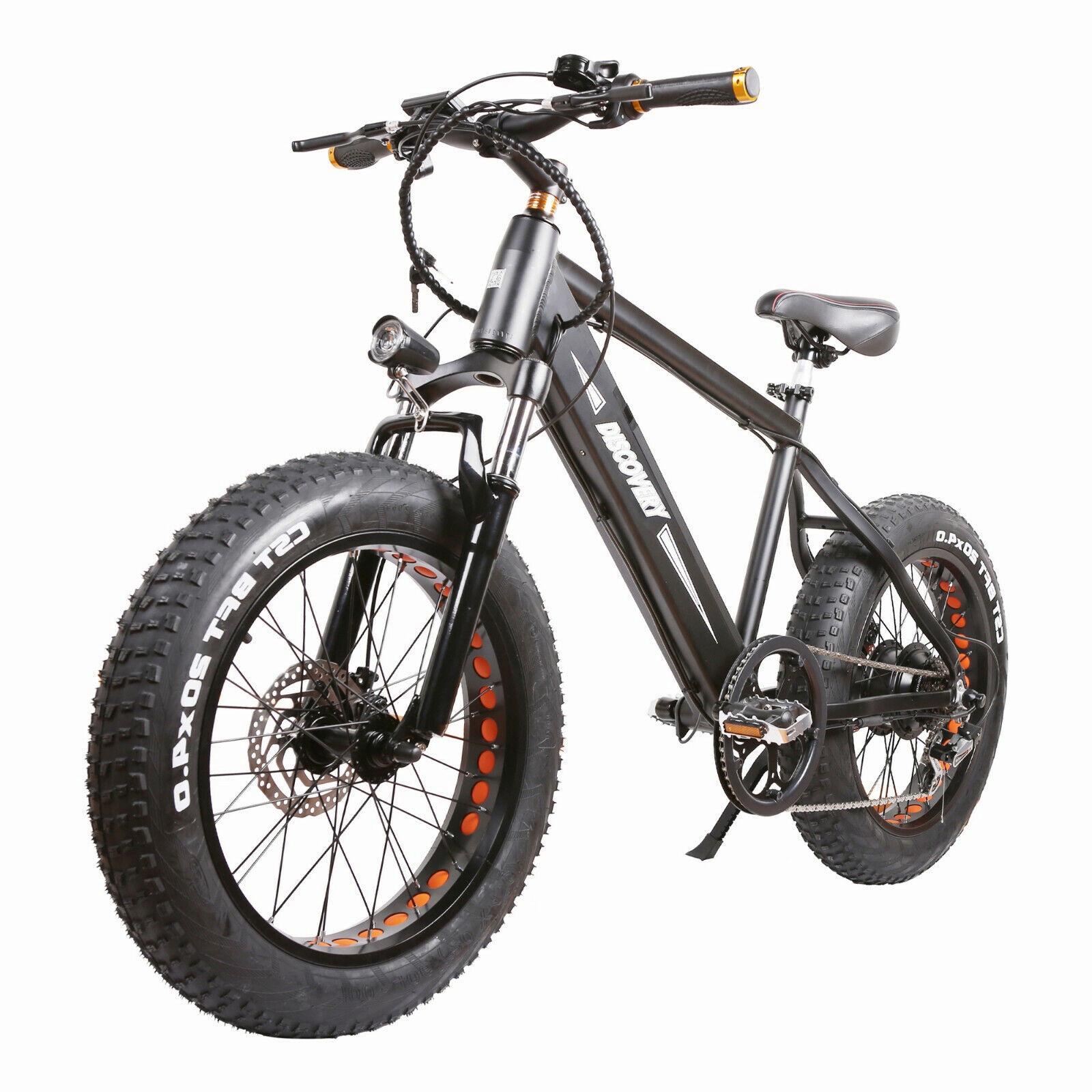 300w electric bike 20 fat tire electric