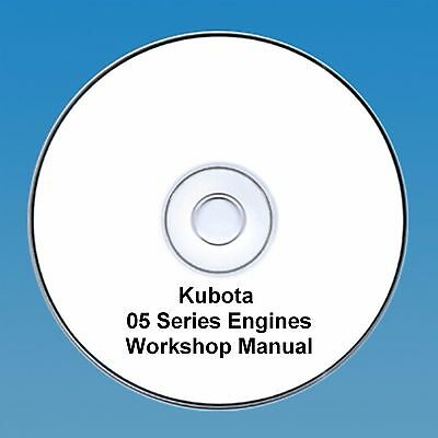 Kubota 05 Series Diesel Engine Workshop Manual
