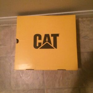 Cat size 12 steel toe boots. NEW in BOX!!