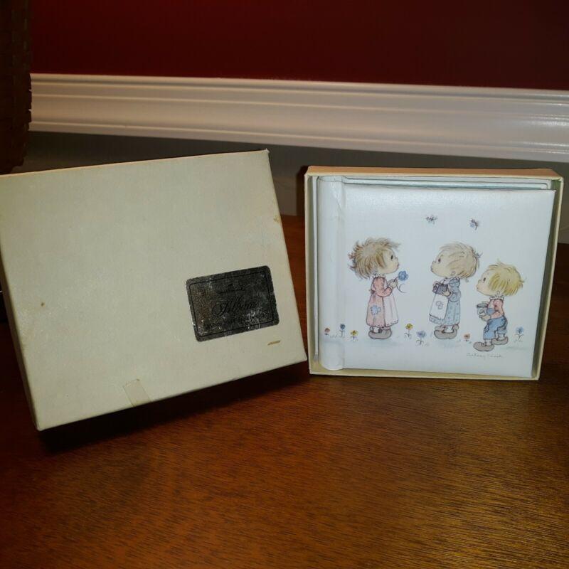 "Vintage Hallmark Betsey Clark Mini Photo Album 1973 Holds 20- 3.5"" x 3.5"" photos"