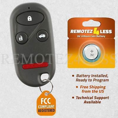 Replacement for 2002 2003 2004 Honda CR-V Keyless Entry Remote Car Key Fob