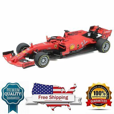 Model Car Sport 2019 Ferrari Formula 1 F1 SF90 #16 Charles Leclerc 1:43 scale