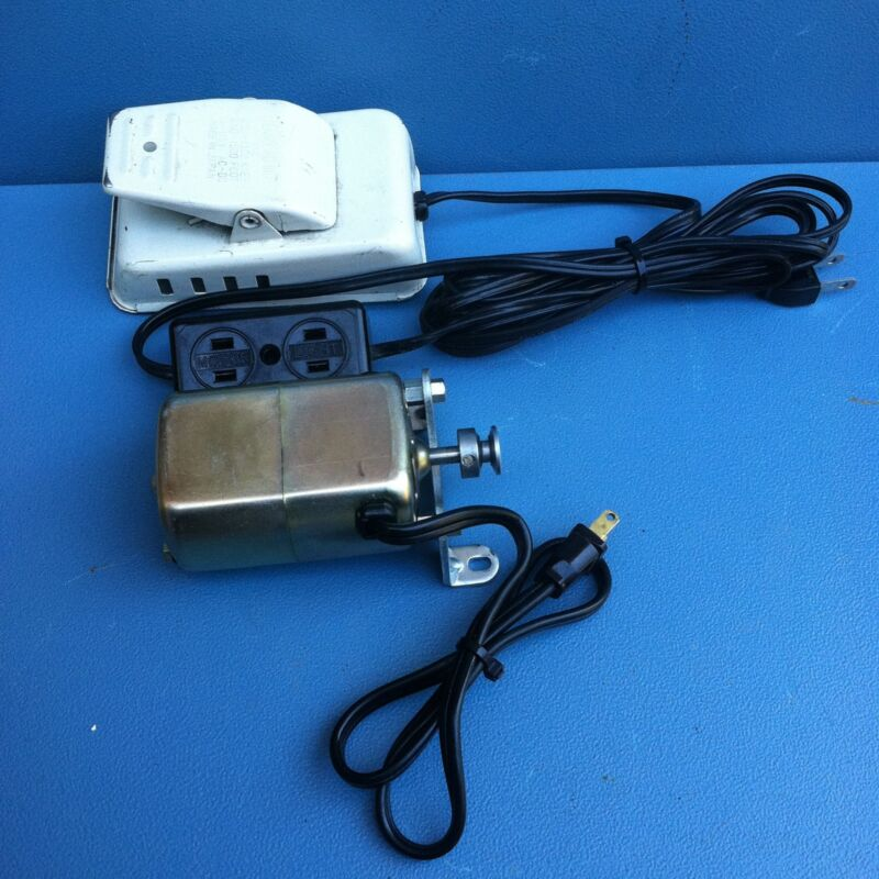 Tennglad Ind Sewing Machine Motor     Made in Japan , w22