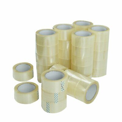36 Rolls Clear Packing Packaging Carton Sealing Tape 1.8 Mil Thick 2 X 110 Yard