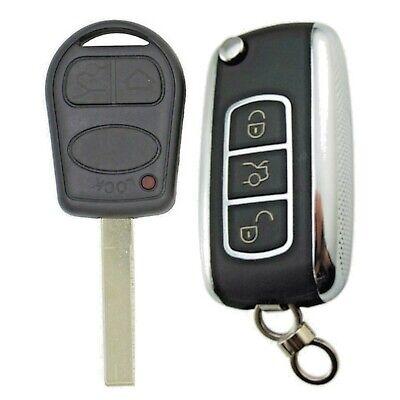 Range Rover L322 3 Button Remote Flip Key Fob Service Upgrade Kit NO CHIP 433mhz