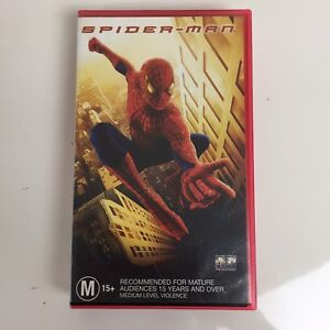 Spider-Man - The Movie VHS Video Tape 2002