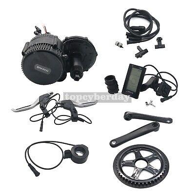 BBS02 48V/750W 8fun Bafang Mid Drive Motor Electric Bike Conversion Kit BB:68mm