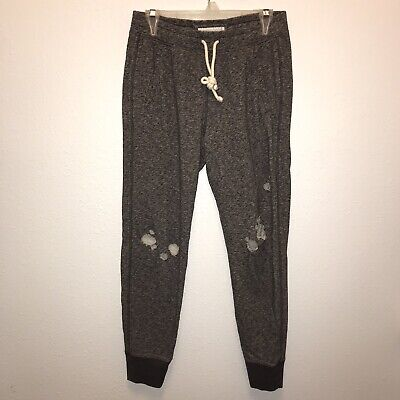 Abercrombie Distressed Trackpants Sweat Pants S