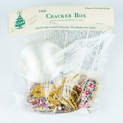 Candy Apple Boxen (New Vintage 1988 Candy Apple Cracker Box 3