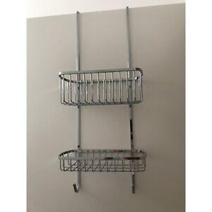 Over the door rack with hooks
