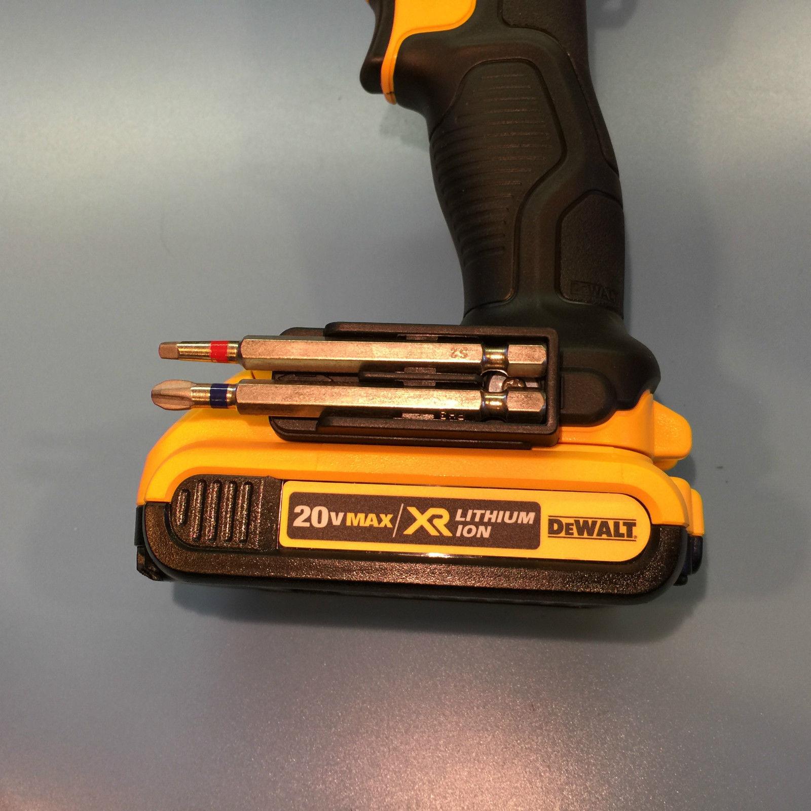 DeWalt DUAL BIT HOLDER ( X4 ) FITS 12V & 20V MAX DRILL & IMPACT