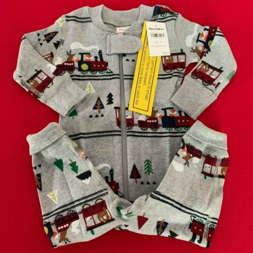 """HANNA ANDERSSON Cute Baby Boys """"HOLIDAY"""" Pajama 3-6 months, 60 cm. Soft-Comfy!"""