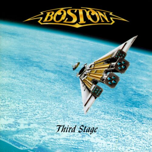 BOSTON Third Stage BANNER HUGE 4X4 Ft Tapestry Fabric Poster Flag cd album cover