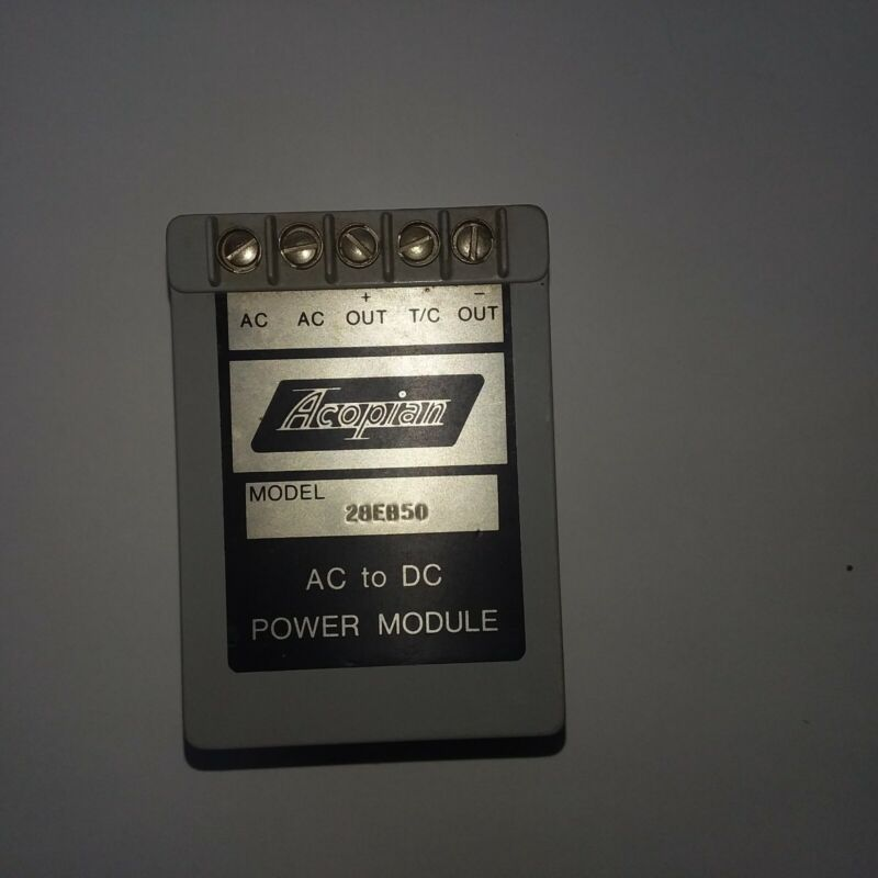 Acopian 5EB250 Power Supply  model 28eb50 28 volts nominal output
