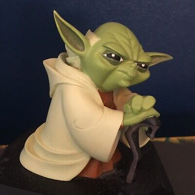 Star Wars Clone Wars Yoda Limited Edition Collector Figure by Gentle Giant Model