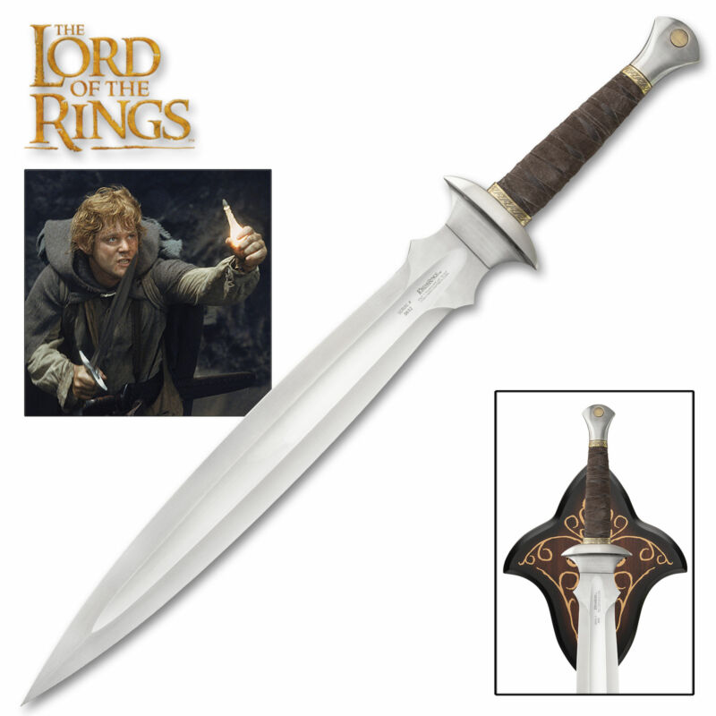 LORD OF THE RINGS Sword of Sam- Officially Licensed LIMITED STOCK