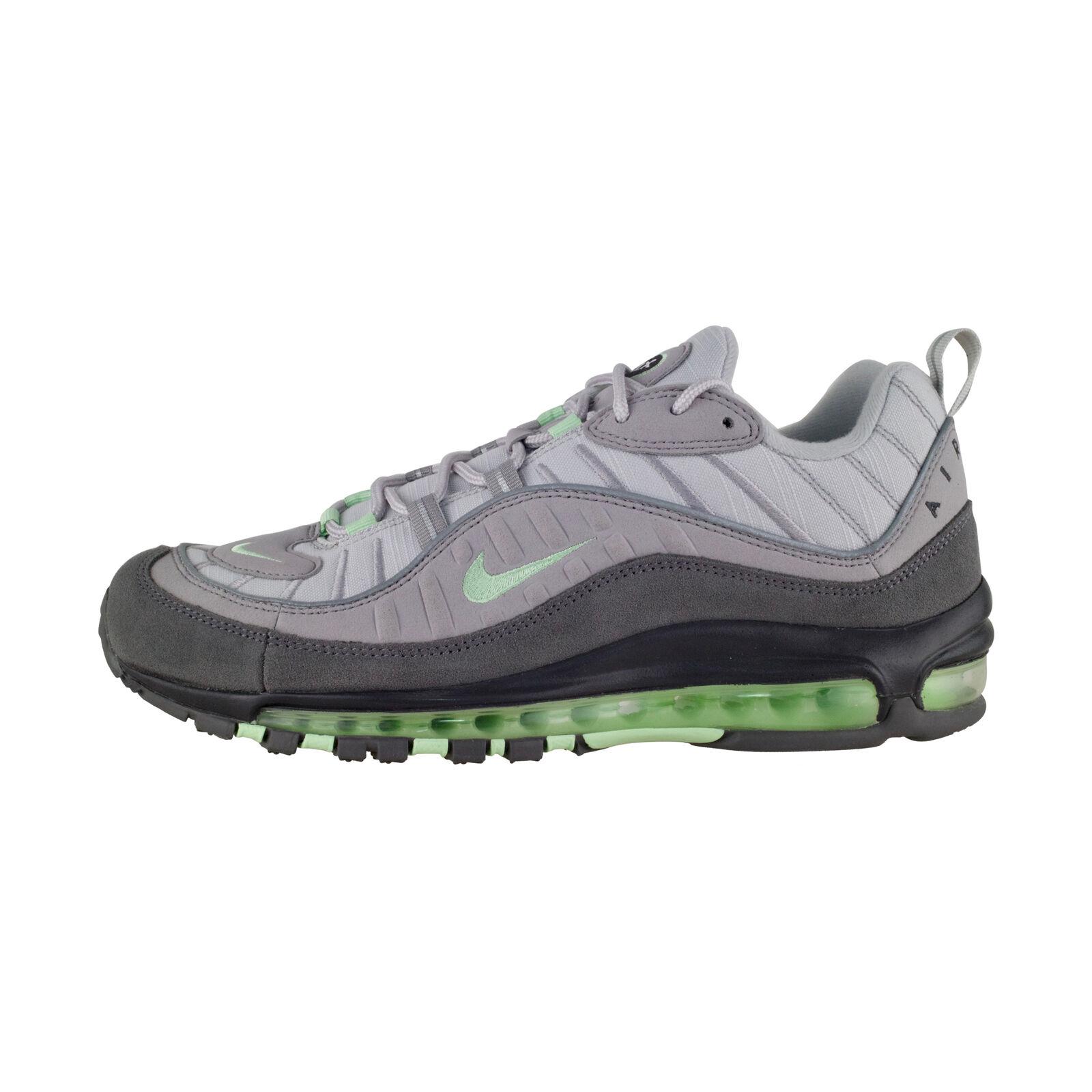 Détails sur Nike Air Max 98 GrisVert Baskets Hommes 640744 011