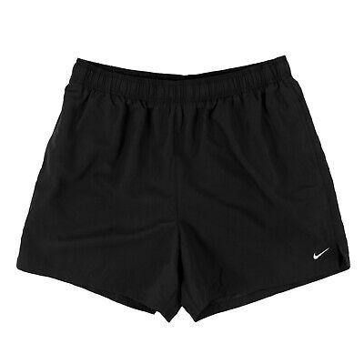 NIKE Herren Badehose NESSA560-001 Schwarz / M (S) / Badeshorts, Shorts